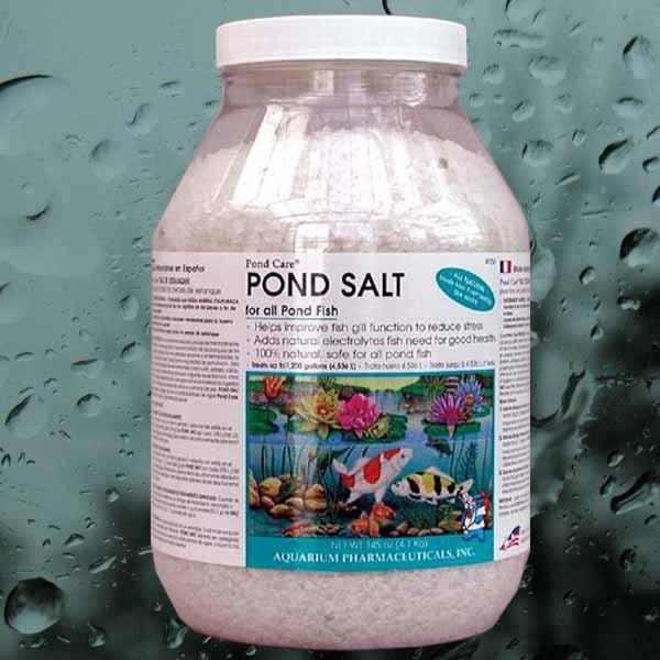 Pond salt by pondcare fish health for Salt in koi pond